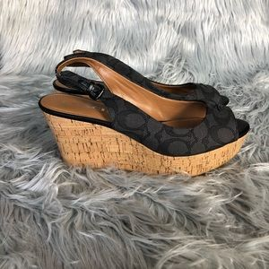 Coach Shoes - COACH Shoes/Wedges Size 8